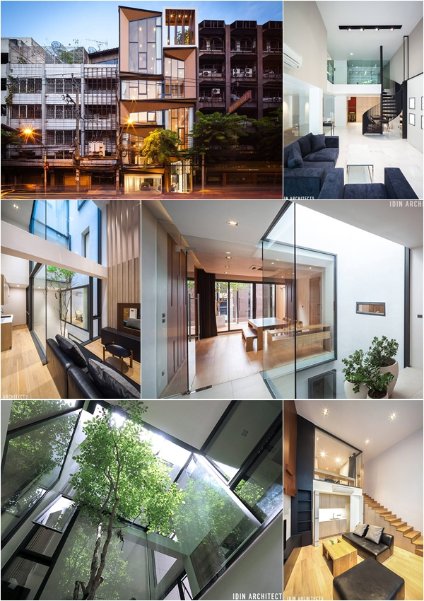 modern glassy townhouse renovation (1)