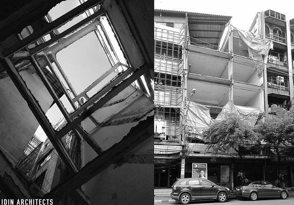 modern glassy townhouse renovation (2)