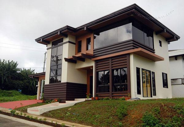 modern tropical hip roof earth house (2)
