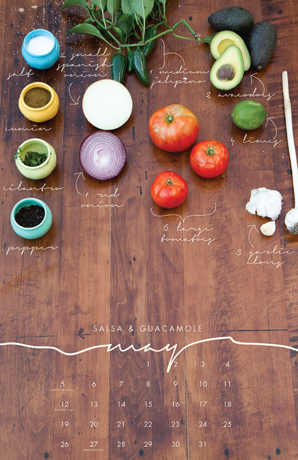 recipes-table-calendar
