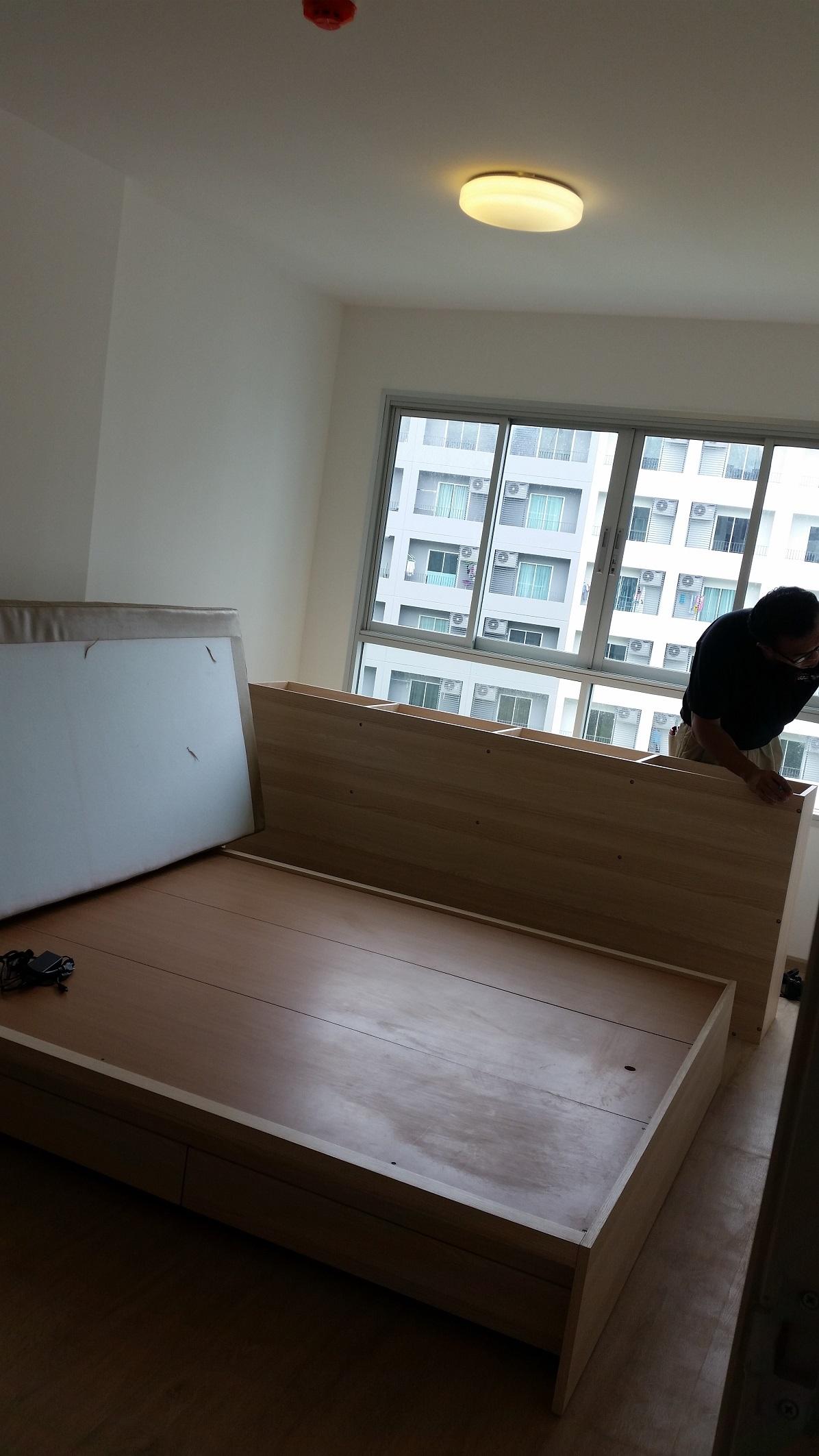 renovate 34 sq mts condo to hotel interior style (5)