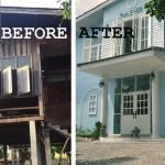 Review : รีโนเวทบ้านไม้หลังเก่า ให้กลายเป็นร้านกาแฟและที่พักสุดชิคสไตล์ยุโรป