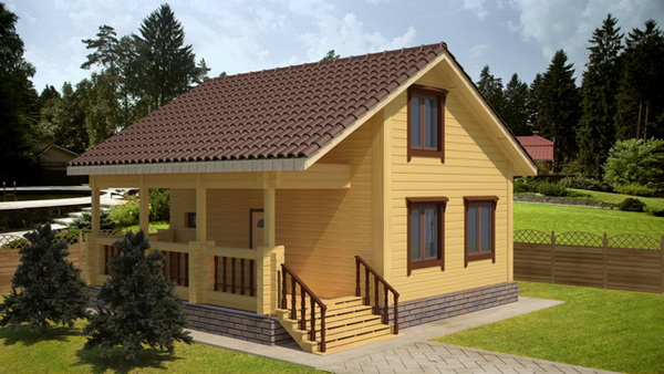 simply wooden 2 storey house (1)