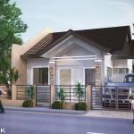 แบบบ้านชั้นเดียวพื้นที่น้อย ออกแบบฟังก์ชั่นครบครัน ในงบประมาณไม่เกิน 700,000 บาท