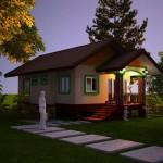 แบบบ้านยกสูงหลังเล็ก มาพร้อมกับชานเรือนน่ารัก ในดีไซน์ที่สวยได้มาตราฐาน