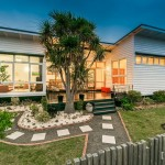 แบบบ้านชั้นเดียวพร้อมสวนสวย 3 ห้องนอน 2 ห้องน้ำ ในบรรยากาศพักผ่อนแบบเต็มอิ่ม