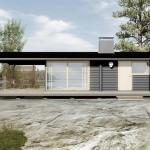 บ้านโมเดิร์นขนาดเล็ก มาพร้อมเฉลียงหน้าบ้าน เหมาะกับไลฟ์สไตล์ของคนไทย