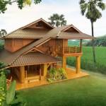 แบบบ้านไม้ทรงไทยประยุกต์ 3 ห้องนอน 2 ห้องน้ำ ในดีไซน์ที่โปร่งโล่งเป็นธรรมชาติ