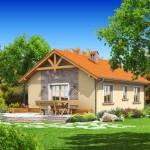 บ้านคันทรีร่วมสมัย สวยงามจากโทนสี และรูปทรงที่คุ้นตา