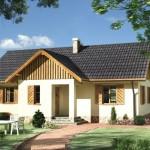บ้านคันทรีร่วมสมัย ออกแบบเรียบง่ายอารมณ์บ้านสวน เหมาะกับครอบครัวคนไทย