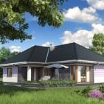 บ้านร่วมสมัย 3 ห้องนอน สวยงามทั้งรูปทรงและโทนสี ความภูมิฐานถูกใจคนไทย
