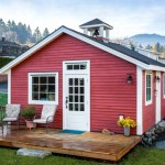 บ้านคอทเทจขนาดเล็ก โดดเด่นด้วยสีสัน ตกแต่งภายในแบบโมเดิร์นลักชูรี่