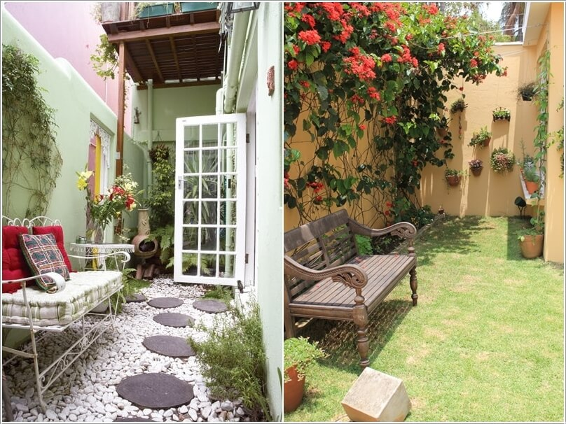 10 ideas to decorate the wall of side yard (4)