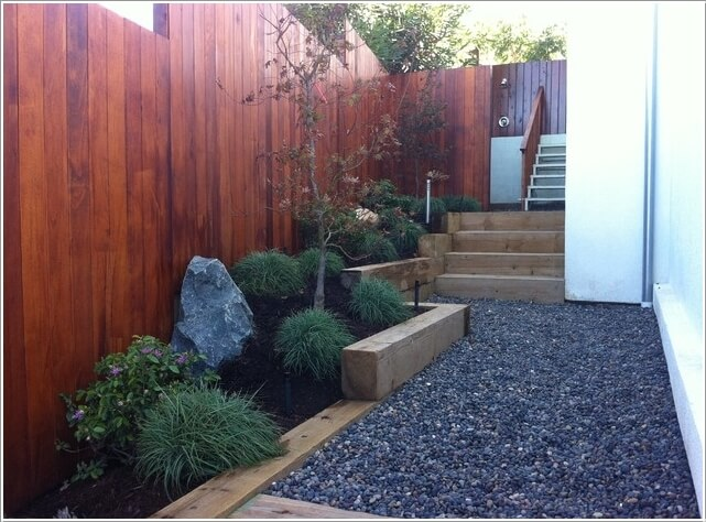 10 ideas to decorate the wall of side yard (6)