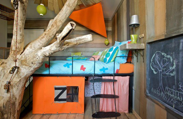 17-Dreamy-Rustic-Kids-Room-Ideas-That-Will-Provide-Entertainment-To-Your-Children-3-630x411