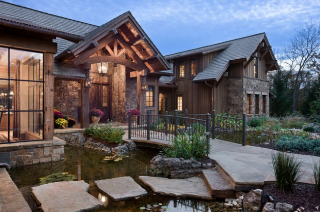 17-Wonderful-Rustic-Landscape-Ideas-To-Turn-Your-Backyard-Into-Heaven-12-630x419