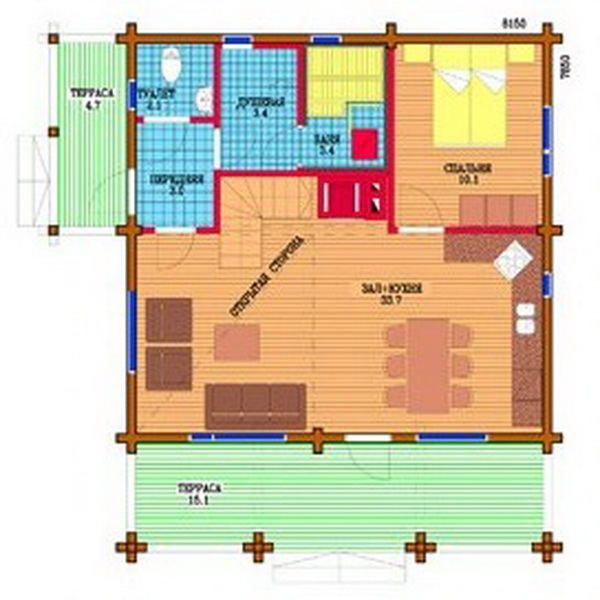2 storey country wooden house (4)