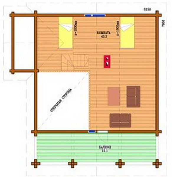 2 storey country wooden house (5)