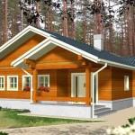 บ้านร่วมสมัย ตกแต่งด้วยไม้ ความลงตัวของครอบครัวขนาดเล็ก