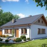 บ้านร่วมสมัย 2 ห้องนอน ออกแบบเรียบง่าย เอาใจครอบครัวขนาดเล็ก