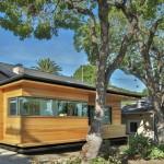 บ้านโมเดิร์นคอทเทจ ออกแบบสมัยใหม่ ผสมวัสดุจากไม้และอิฐ
