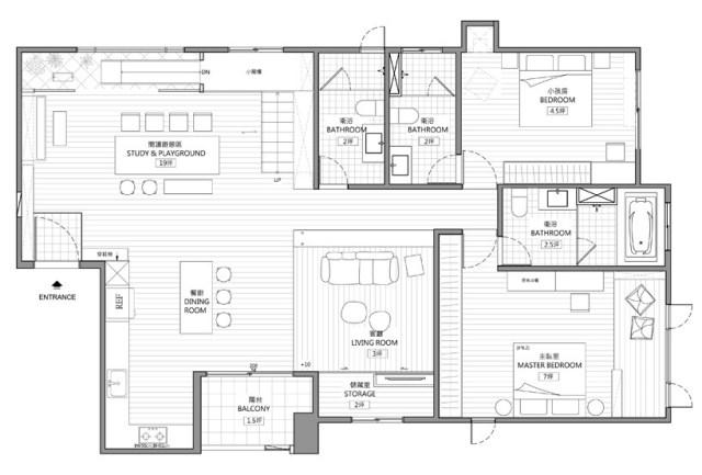 HAO-design-studio-the-family-playground-interiors-taiwan-designboom-1-818x553