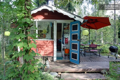 Hobbit hut rental in helsinki tiny house cabin cottage