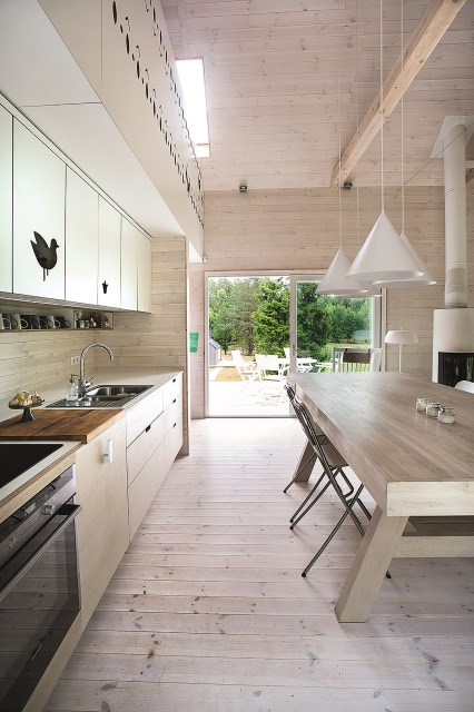 Lithuanian-Hunting-House-Devyni-architektai-Lithuania-Kitchen-Humble-Homes