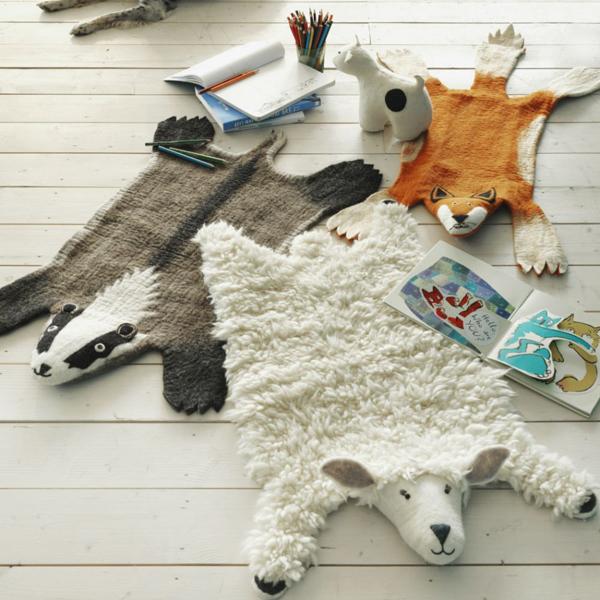 animal-felt-rug-collection