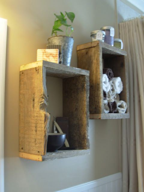 barn-wood-bathroom-shelves
