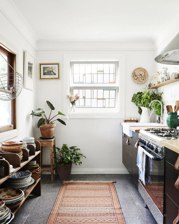 chic-small-bohemian-kitchen-decor
