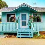 บ้านคอทเทจหลังน้อย อบอุ่นกะทัดรัด มาในโทนสีฟ้าสดใส