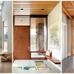 """20 ไอเดียตกแต่งทางเข้าบ้าน ด้วย""""ประตูไม้"""" สวยงามและเป็นเอกลักษณ์ของบ้าน"""