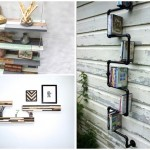 18 ไอเดียชั้นวางของ วัสดุจากไม้และโลหะ ในรูปแบบการ DIY ที่แสนง่าย