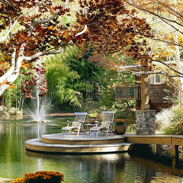 dreamy-garden-pond-and-deck-for-summer