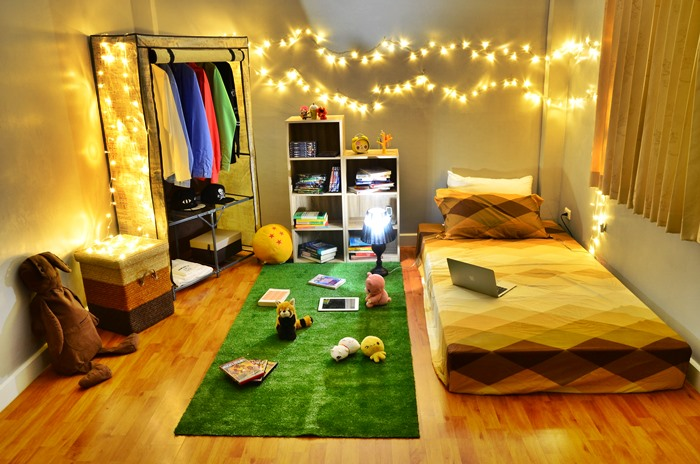 easy arranged hipster bedroom diy review (1)