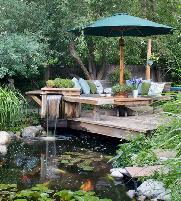 garden-pond-and-deck-ideas