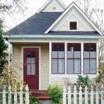 บ้านคอทเทจขนาดกลาง สวยงามทั้งภายนอกสู่ภายใน ลงตัวทุกความต้องการของครอบครัว