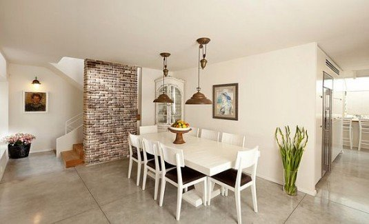 incredible interior stone wall for all rooms in a house (2)