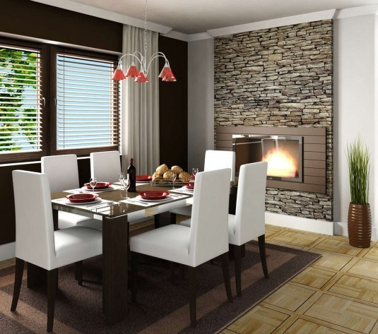 incredible interior stone wall for all rooms in a house (4)