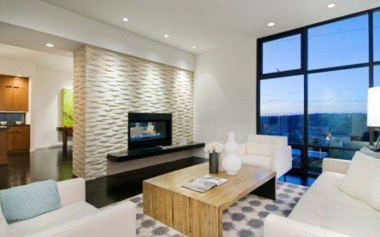 incredible interior stone wall for all rooms in a house (6)