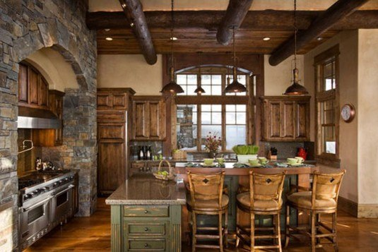 incredible interior stone wall for all rooms in a house (7)