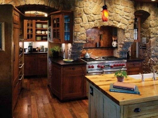 incredible interior stone wall for all rooms in a house (9)