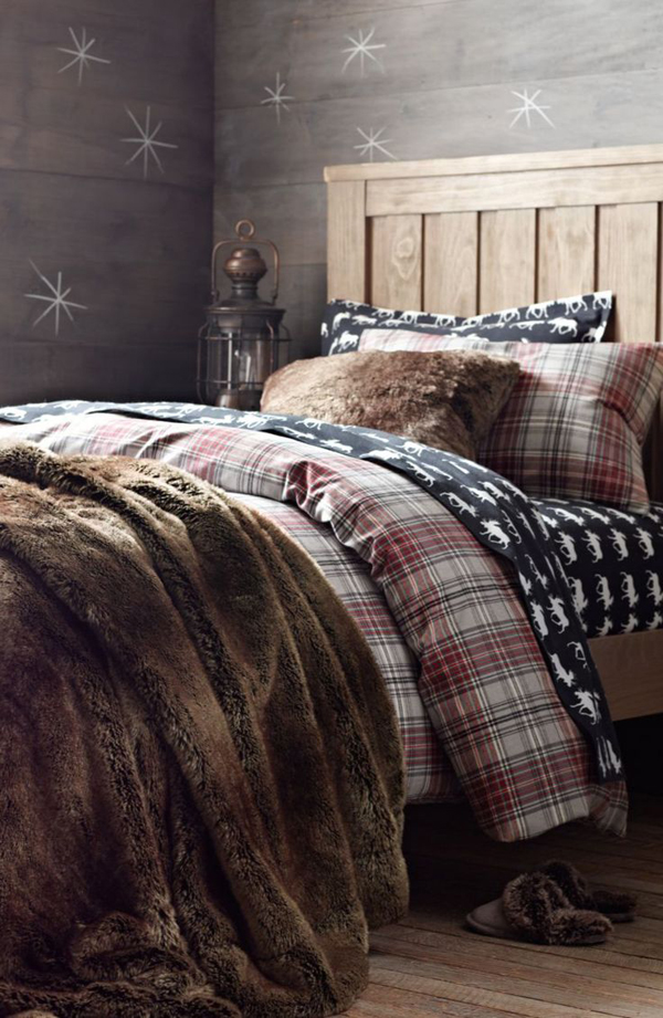 lodge-plaid-flannel-bedding-for-winter