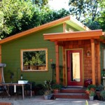 บ้านโมเดิร์นขนาดเล็ก ตกแต่งให้อารมณ์คอทเทจ สวยงามด้วยรูปทรง วัสดุ และโทนสี