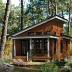 บ้านตากอากาศสไตล์โมเดิร์น ขนาด 1 ห้องนอน ตกแต่งด้วยไม้ เหมาะกับความต้องการของคนไทย