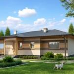 บ้านขนาดกลาง 3 ห้องนอน 3 ห้องน้ำ ออกแบบร่วมสมัย ผสมวัสดุจากไม้