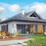 บ้านร่วมสมัย 3 ห้องนอน สวยงามทั้งโทนสีและวัสดุ แฝงความภูมิฐานในรูปทรง