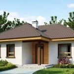 บ้านร่วมสมัย ขนาดกะทัดรัด 3 ห้องนอน 1 ห้องน้ำ เหมาะกับครอบครัวคนไทย