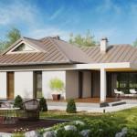 บ้านเดี่ยวร่วมสมัยออกแบบเรียบง่าย มาพร้อมกับเฉลียงและสวนสวย เหมาะกับครอบครัวที่นิยมความภูมิฐาน